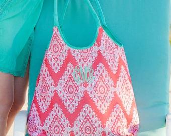 Monogrammed Beach Bag / Beach Bag