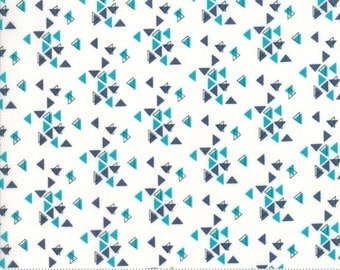 SPECTRUM Triangles in Indigo Paper by V and Co for Moda
