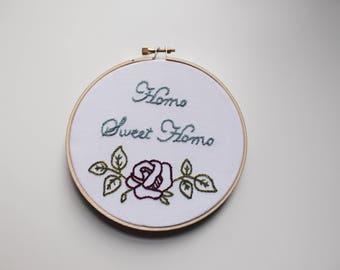 Embroidery hoop art. Embroidered. Hand emroidery. Feminist art. Feminism. Feminist. Lgbt. Lgbtqia. Pride.