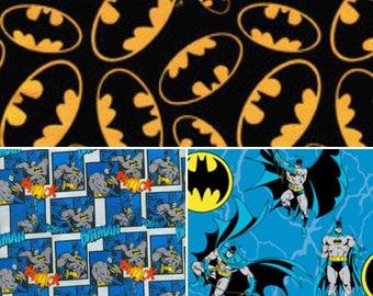 1 yard  Batman Fabric /  Fabric By The Yard
