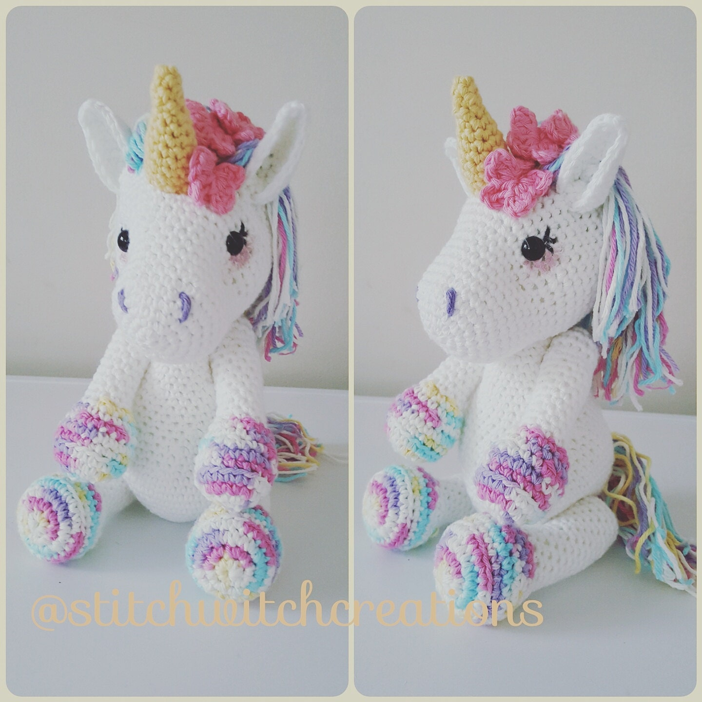 Crochet Pattern For Unicorn Pakbit For