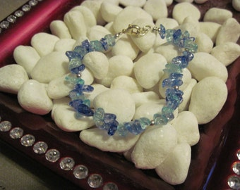 Blue Stone Sparkler Bracelet
