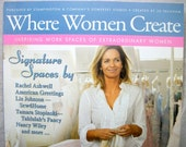 Where Women Create Magazine - back issue - Autumn 2012