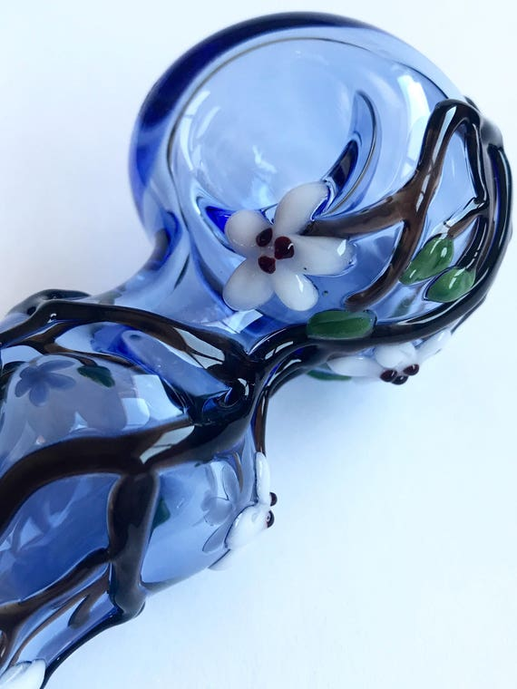 Glass Pipe Cherry Blossoms