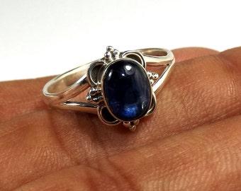 Kynite Ring, Kynite Gemstone, Kynite Rings, Designer Ring, 925 Sterling Silver, Fine Silver Ring, Black Friday Sale, Ring, Wedding Ring,