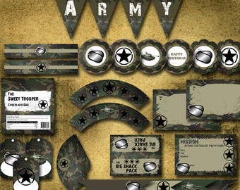 Army Party Set