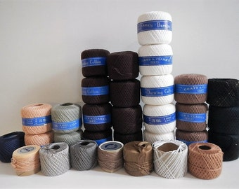 Vintage Darning Thread - lot of 31, assorted colors - mending thread, sewing supply, home decor, sewing room decor, sewing notions, yarn