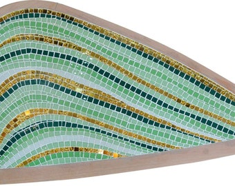 Table Top Glass Mosaic Design