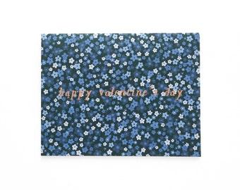 Gorgeous Valentine's Day Card, Mini Florals Valentine's Day Card