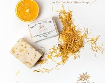 Patchouli Orange Jun Kombucha Culture Soap