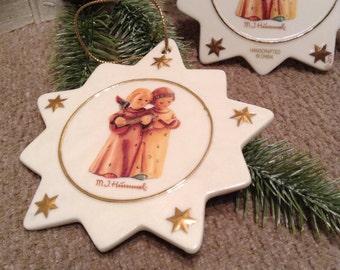 Hummel Ornaments Angels Singing With Banjo - M. J. Hummel Ornaments