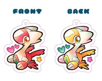 Pokemon Latias Acrylic Charm