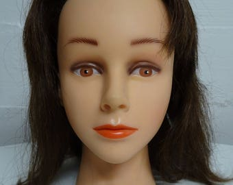Mannequin Cosmetology Head, Earring Display, Hat Display, Eyewear Display- FREE SHIPPING