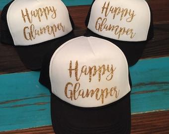 Happy Glamper Trucker Hats