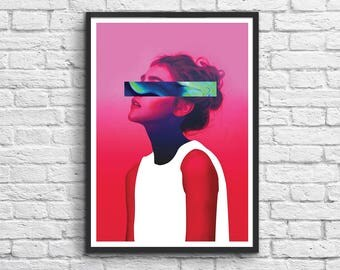 Art-Poster 50 x 70 cm - Tyoo - Surreal Girl