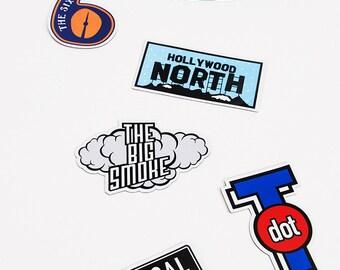 Toronto Nicknames Magnet Pack