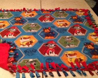 Paw patrol fleece blankets