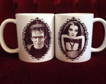 Munsters Coffee Mug Set