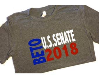 Beto For Senate Us Senate T Shirt Beto O Rourke Shirt