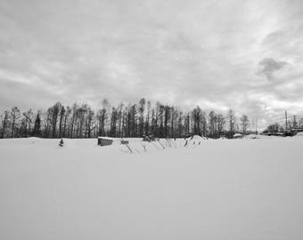 Niseko, Hokkaido, Japan, during the winter