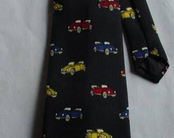 Vintage Volskwagen Print Tie