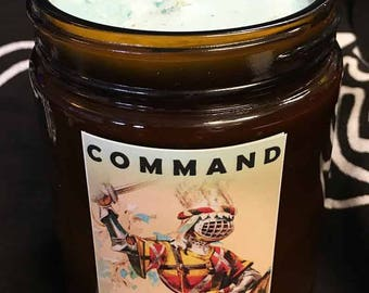 Command scent soy candle