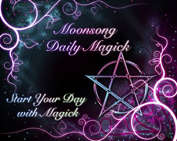 Featured listing image: Moonsong Daily Magick Membership