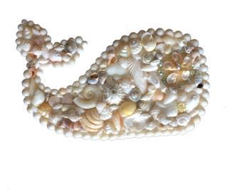 Whale Seashell Stand Alone Art Piece