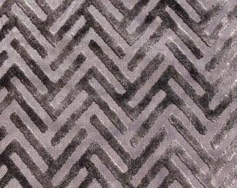 Gray velvet curtains | Etsy