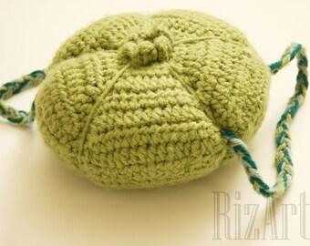 Bulbasaur Crochet Flower Bulb/Backpack   Bulbasaur Crochet Costume   Flower Bulb Backpack