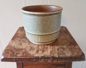 Vintage (look) earthenware pot.