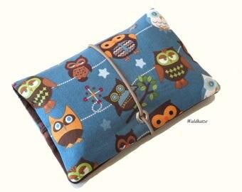 Tobacco bag / pouch / Leno bag * OWL *.