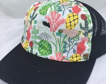 Art Collab hat of Whimsical Desert