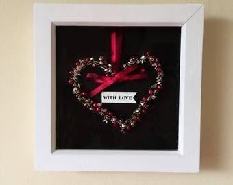 Lovely gift I Home decor I Heart Frame I Wall art
