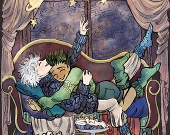 Cozy Killugon Hunter x Hunter Print