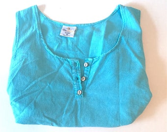 SEA BREEZE Soft Cotton Tank SZ M