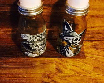 Day of the Dead (Dia de Los Muertos) 2 Posada's Art Lanterns Nightlight