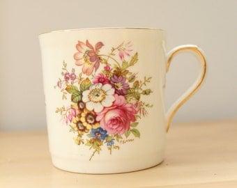 Antique vintage Hammersley Howard Sprays floral bone china teacup tea mug