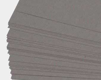 Recycled A2 Grey Sugar Paper 100gsm Grey Construction Craft Paper Stock Choose Quantity