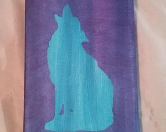 Wolf canvas