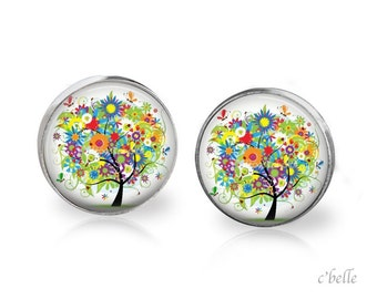 Earrings floral 7