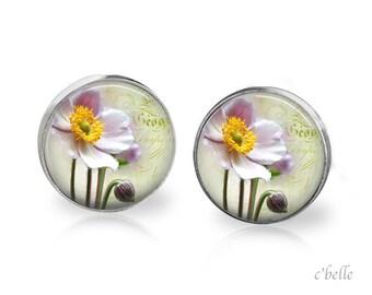 Ear studs of pastellener cherry blossom 2