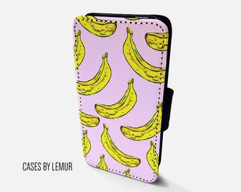 BANANA Wallet Case For Samsung Galaxy S8 Wallet Case For Samsung Galaxy S8 Leather Case For Samsung Galaxy S8 Leather Wallet Case For S8