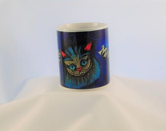 Cheshire Cat Alice In Inspired Coffee Mug