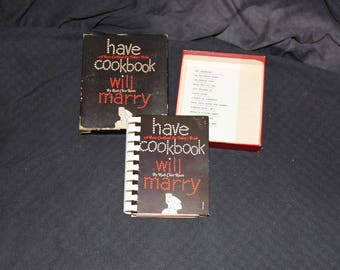 Have Cookbook Will Marry  by Ruth Chier Rosen