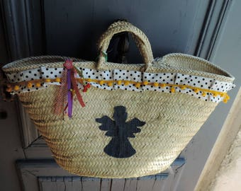 Angel beach bag