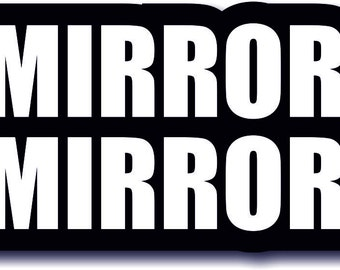 Mirror Mirror Quality Photo Booth Prop Large #wordprop MDF Photobooth Prop  013-432