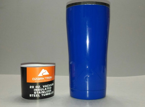 New Powder Coated Blue Streak Ozark Trail Insulated 20 Ounce