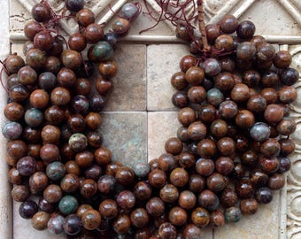 African Opal Beads