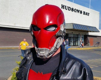 Red Hood Concept Full Helmet